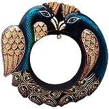 Handicraft Village Decorative Handicraft Wall Mirror For Home Decore, Gift Purpose (HV1770_Mullti-Colour)