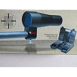 WINGS Modelo de Visor de Precisión de Arma de Fuego BS30SGA, el Más Nuevo, Juego DE 16 Pernos (se Incluyen los Pernos Ajustables para Escopeta). De Calibre .177 a .50