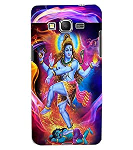 ColourCraft Lord Shiva Design Back Case Cover for SAMSUNG GALAXY GRAND PRIME G530H