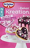 Dr. Oetker Dekor Kreation Rosa Mix, 3er Pack (3 x 60 g)