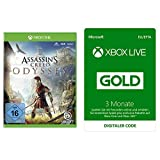 Assassin's Creed Odyssey - Standard Edition - [Xbox One] + Xbox Live Gold 3 Monate Bundle