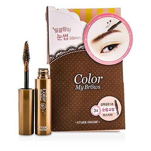 Etude House - Color My Brows - Augenbrauen Mascara - 03 Red Brown - Augenbrauen Make Up