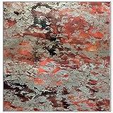 CarPET Teppich, Hoher 1,2 cm Super Weicher Teppich Teppich Aus Nordischem Teppich Teppich Rutschfeste, Verschleißfeste Antistatische Yogamatte,Stylethree,140X200CM