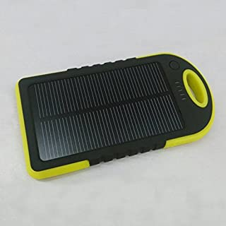 Jovabox 5000mAh Solar charger and Power Bank/pack with Water/Dirt/Shockproof, for iphone 6, iphone 5s, Android turbo, iphone 5, 4S , ipod, Samsung galaxy S5, Galaxy S4, S3 and NOTE 4, NOTE 3, HTC one; LG G3; LG G2; Nexus; Moto X, Moto G, Blackberry