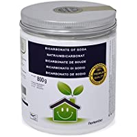Bicarbonato de Sodio NortemBio 800g, Insumo Ecológico de Origen Natural, Calidad Premium, Producto CE.