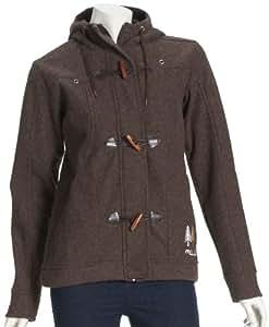Maloja Damen Bonded Wool Jacket Moyet Snow, wood, S, 010127-0