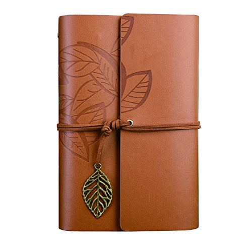 nectaroy-vintage-retro-pu-leather-cover-notebook-writing-journal-diary-130185mm-vintage-leaf-pattern