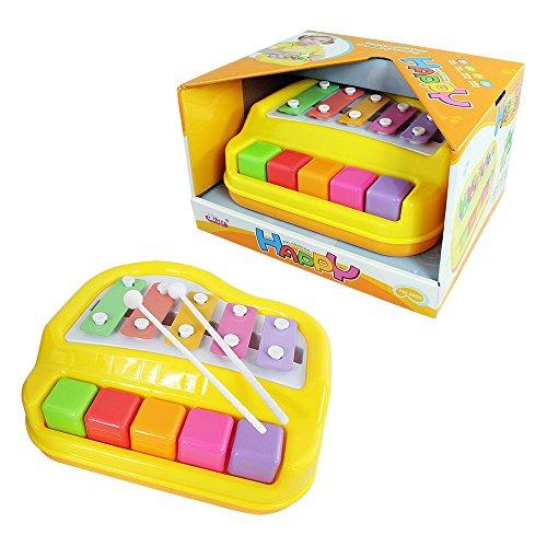 Baoli 5 Chiavi Mni Piano xilofono giocattolo per i più piccoli bambino