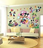Imagen pegatinas de pared de Mickey Mouse pegatinas de pared de Mickey Mouse de Disney para niños decoración de la pared