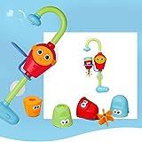 szjsl Baby Badespielzeug–Flow N Füllen Auslauf, Kinder faucet- Drei stapelbar Tassen und Automatisierte Auslauf von
