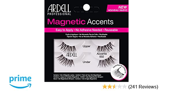 7a9eafcf451 Ardell Magnetic Lashes Natural Accents 002: Amazon.co.uk: Beauty