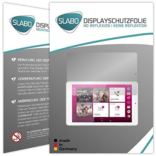 2 x Slabo Bildschirmschutzfolie Telekom Puls Bildschirmschutz Schutzfolie Folie