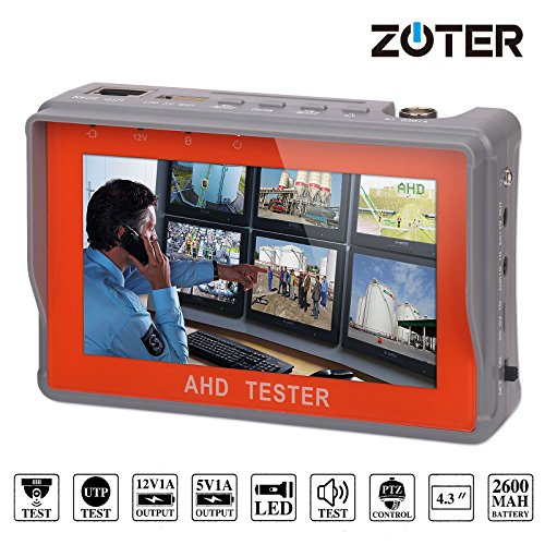 zoter CCTV AHD Kamera Handgelenk Tester Video Audio 10,9cm LCD Monitor