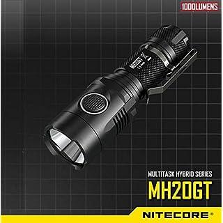 ADAALEN Nitecore MH20GT CREE XP-L HI V3 1000LM Multitask LED Flashlight