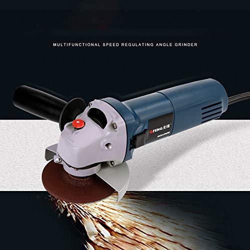 Winkelschleifer Elektrische variable Geschwindigkeit elektrische Schleifscheibe Trennwerkzeug zum Schleifen oder Schneiden von Metall -