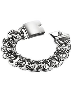 Save Brave SBB-GEORGE Armband George Edelstahl silber