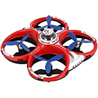 Lanlan CX-60 AIR Dominator 2.4G 4CH 6 Axis Gyro Mobile WIFI RC Infrared Fighting Drones-Red+Blue(2pcs) - Compare prices on radiocontrollers.eu