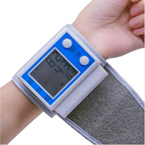 GHJ Handgelenk-Sphygmomanometer Machinetonometer Zur Messung Der Automatischen Home Health Digital Lcd Oberarm Blutdruckmessgerät Herz-Körper-Massage