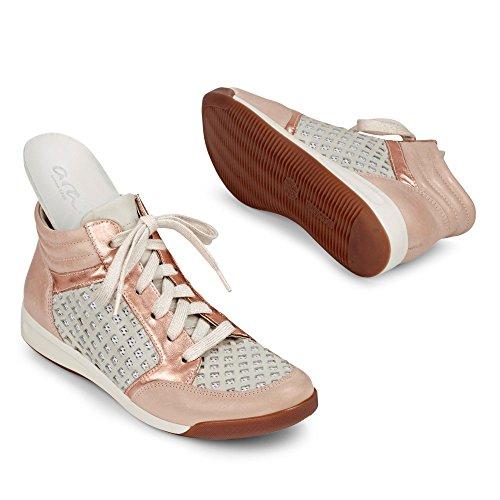 Ara Rom, Sneakers basses femme Rouge