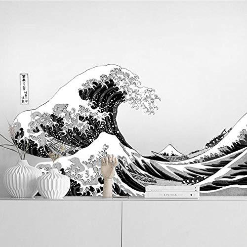 Fagreters 50Cmx90Cm Gran ola Kanagawa Decoración