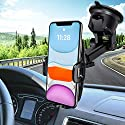 Mpow Handyhalterung Auto Handyhalter fürs Auto KFZ Smartphone Halterung Auto Handyhalterung Kfz Handy Halterung Amaturenbrett Handyhalter Handy Halter für Auto für iPhone11/XS,Galaxy10/9/8,HTC,Google