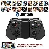 Bluetooth Gamepad Bluetooth Controller und iOS Controller mit Teleskophalterung schwarz