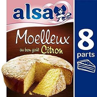 Alsa - Flockiger Zitronenkuchen 435G -Préparation Gâteau Moelleux Citron 435G - Preis Pro Einheit - Preis Pro Einheit