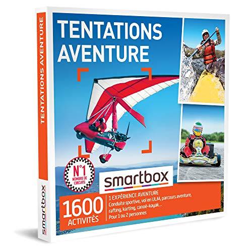 SMARTBOX - Coffret Cadeau homme femme - Tentations aventure - idée cadeau - 1600...