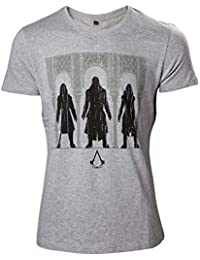 Assassin's Creed Group T-shirt gris chiné