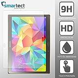 SmarTect® Samsung Galaxy Tab S (10.5) Premium Gorilla Glas Display-Schutzfolie aus gehärtetem Panzerglas | Hart-Glas | Tempered Glass - Top-Schutzglas gegen Kratzer dank Härtegrad 9H (0,33 mm)