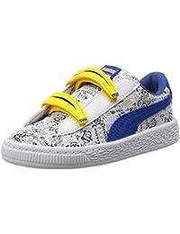 Puma Unisex-Kinder Minions Basket V Inf Sneaker