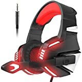 Die besten VersionTech Gaming-Headset - VersionTech PS4Gaming Headset Noise Cancelling Xbox One Kopfhörer Bewertungen