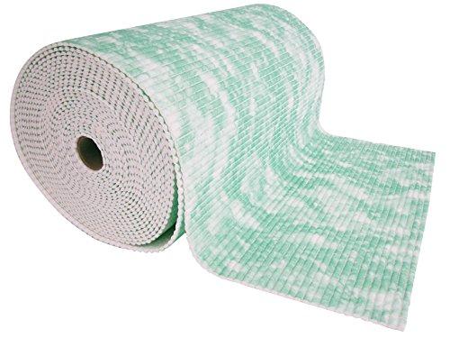 TEKNO PLAST Rotolo 15mt Flexy marmorizzato verde Tessuti per pulizie