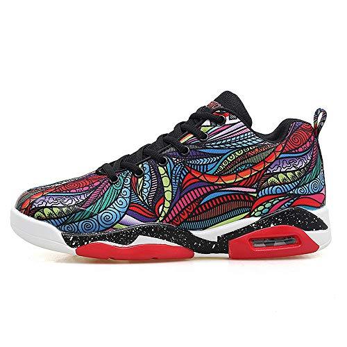 HUANG LI HAN männer Basketball Schuhe high-top Sport Luftpolster Jordan Retro Athletic Paar Schuhe Bequeme Schuhe atmungsaktive Turnschuhe