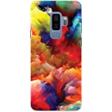 MADANYU Colorful Clouds Play With Colors Designer Printed Hard Back Shell Case For Samsung S9 Plus