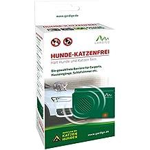 Gardigo 60047 - Repellente Ultrasuoni Mobile Anti-cani, gatti, volatili, martore, donnola e faina   Dissuasori per macchina, casa e garage - Verde
