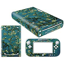 Linyuan Skin Sticker Decal Cover Case 0115# para Nintend WII U Console And Controller