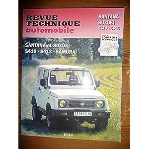 RRTA0502.5 – REVUE TECHNIQUE AUTOMOBILE SUZUKI – SANTANA SAMURAI S410 S413