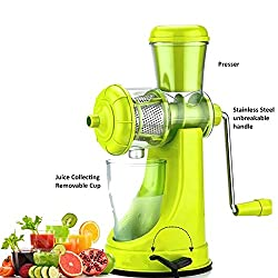DFS Premium FRUIT & VEGETABLE JUICER With Steel Handle (With 6 months Warranty)(Colors may Vary)