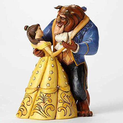 Disney Traditions Moonlight Vals Figurine of (Belle and The Beast) 4049619 25 Anniversary Piece 2016