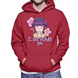 Die besten Naruto Aktion Animes - Naruto Hinata I See Inside You Men's Hooded Bewertungen