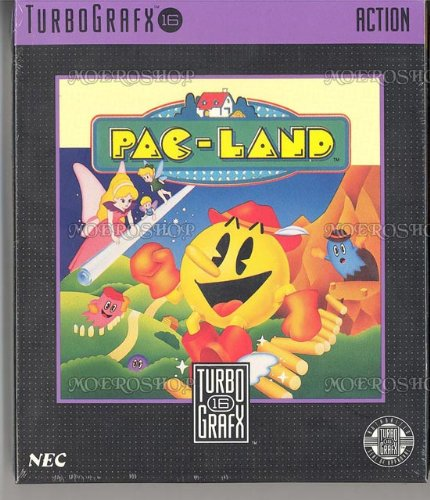 PC Engine / TurboGrafX - Pac-Land (NEU & OVP)