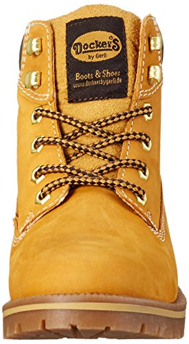 Dockers by Gerli Damen 35aa203-300 Combat Boots Gelb (golden tan 910)