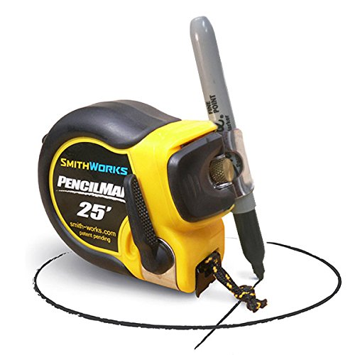 PENCILMAN Marking Tape Measure  Arcs and Circles, Single handed marking
