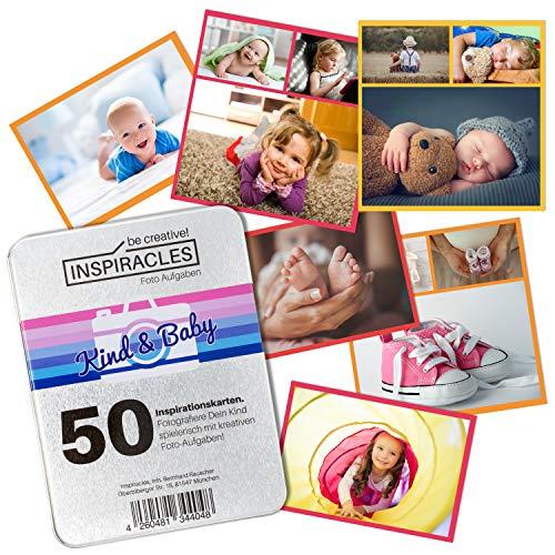 Inspiracles Baby und Kind Fotoshooting Ideen - Kinderfotografie Tipps 50 Foto Aufgaben zu tollen Fotos