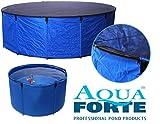 Aquaforte Flexibles Faltbecken Koi bowl, inkl. Abdecknetz und praktischer Tragetasche, Ø 180 x H 60 cm (± 1500 L)