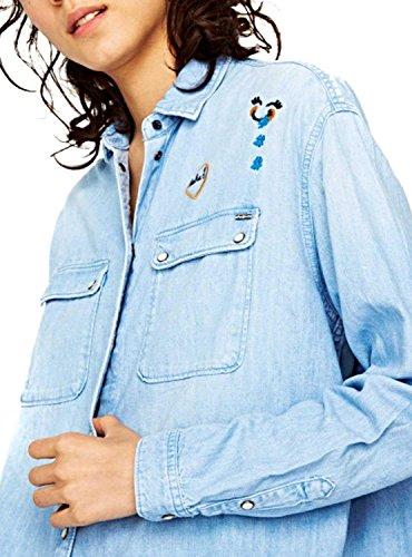Camicia Pepe Jeans Denim Blue Monica Haha Blue