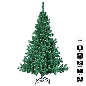 k nstlicher weihnachtsbaum gr n h he 1 80 m. Black Bedroom Furniture Sets. Home Design Ideas