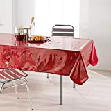 DecorLine 1710281  Nappe Cristal Uni Transparent 140 x 240 cm
