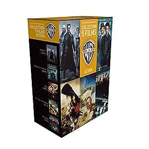90 ans Warner - Coffret 5 films - Action + 1 magnet collector « Matrix » offert [Blu-ray] [Édition Limitée]